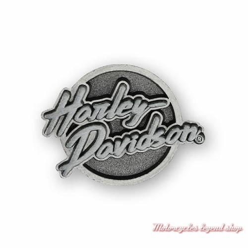 Pin's Edgy Harley-Davidson, rétro, métal antique, relief, P321063