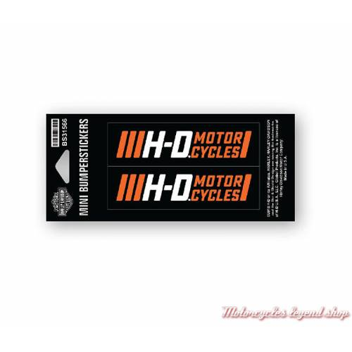 2 petits stickers Traction Harley-Davidson BS31566
