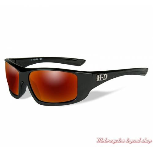 Lunettes solaire Duel Harley-Davidson, verre miroir vert, HADUE13