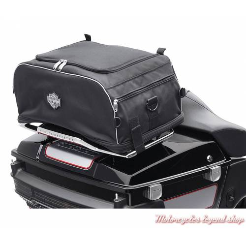 Sac pliable pour porte-bagages Harley-Davidson, noir, 93300009