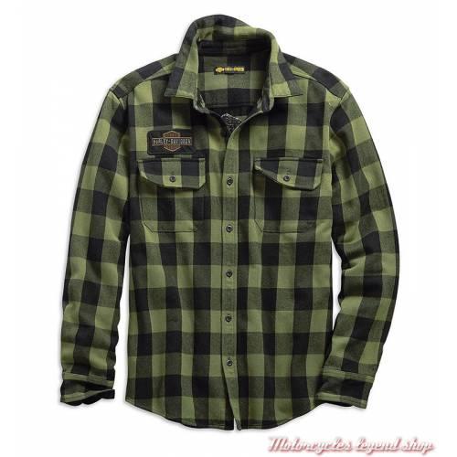 Chemise à carreaux Buffalo Harley-Davidson homme