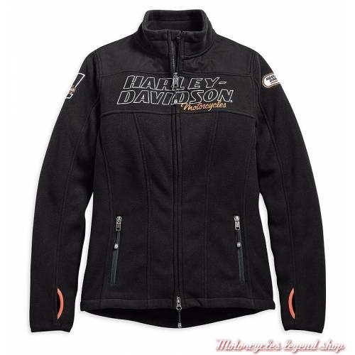 Veste polaire H-D Racing Harley-Davidson femme