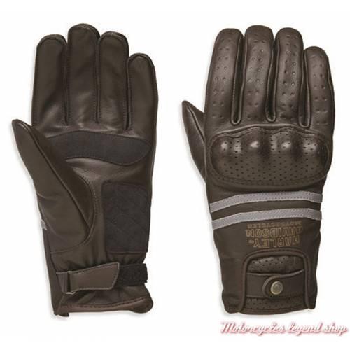 Gants cuir Freemont Harley-Davidson homme