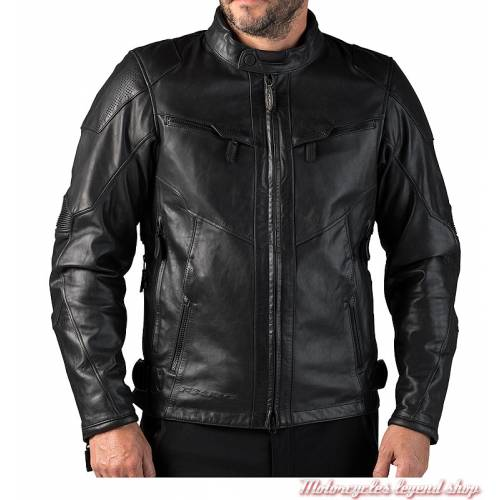 Blouson cuir FXRG Triple Vent Harley-Davidson homme