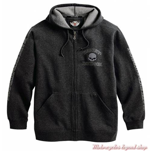 Sweatshirt Skull Harley-Davidson homme