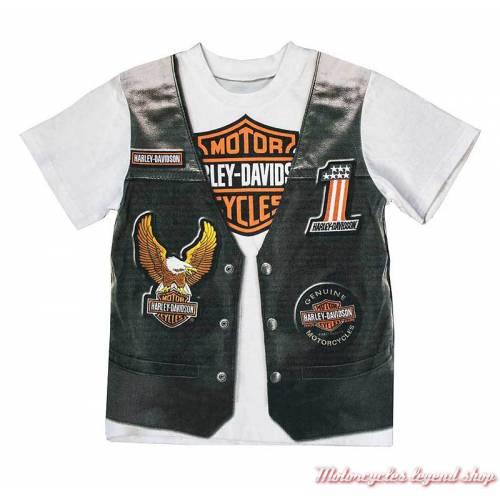 Tee-shirt Gilet garçon Harley-Davidson