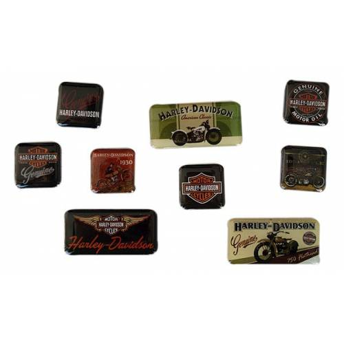 Magnets Nostalgic Harley-Davidson