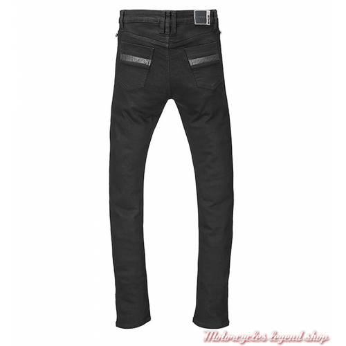 Jeans skinny Riding Triumph femme, noir, homologué, protections, dos, MDJS17120