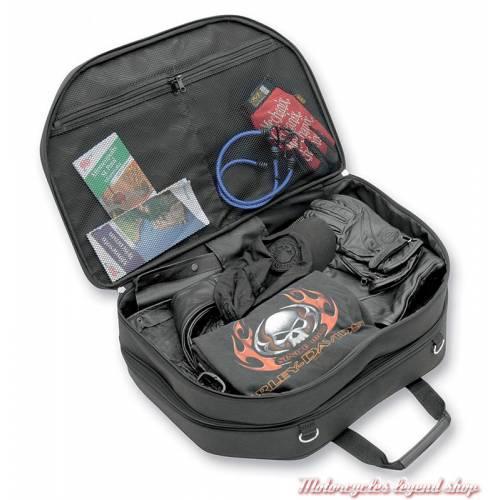 Sac pour porte-bagages Tour Pak Saddlemen, toile noire, doublé, 3516-0121-2