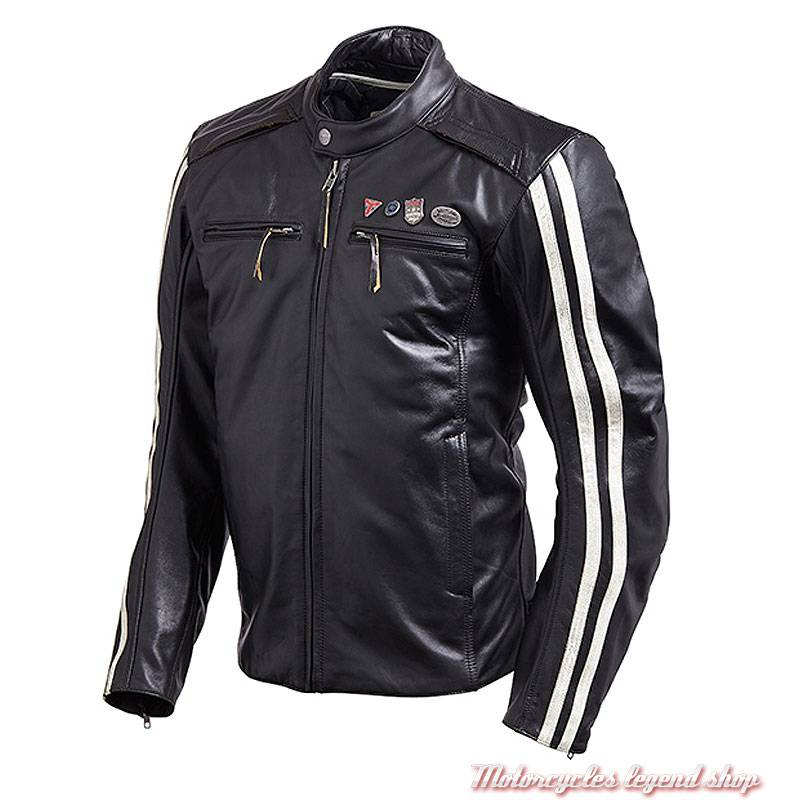 c6d6419dc7a Blouson cuir Beachley Triumph - Motorcycles Legend shop