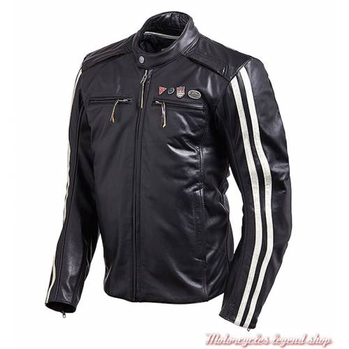 Blouson cuir Beachley Triumph