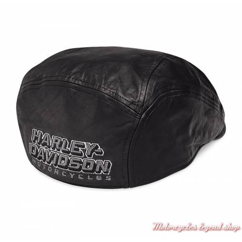 Casquette Ivy cuir Harley-Davidson homme
