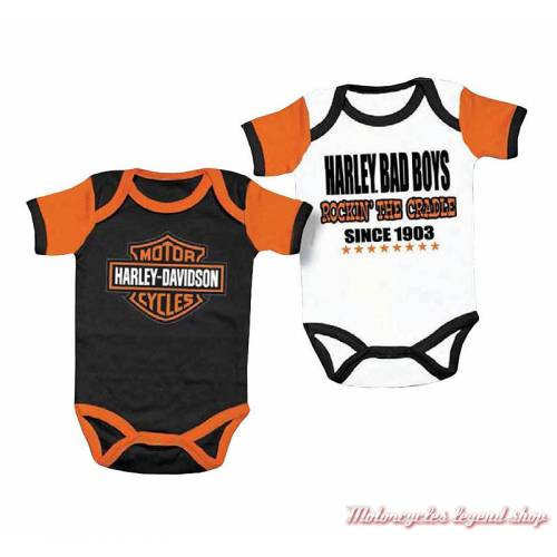 2 bodies Harley-Davidson garçon
