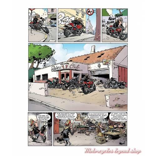 BD Triumph Riders Club, Tome 1 Des cylindres et des hommes, 32 pages, Pat Perna et frédéric Coicault, éditions Hachette Comics,