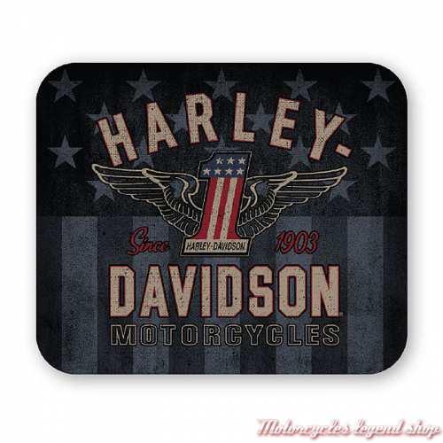 Tapis de souris RWB Harley-Davidson, néoprène, MO33812