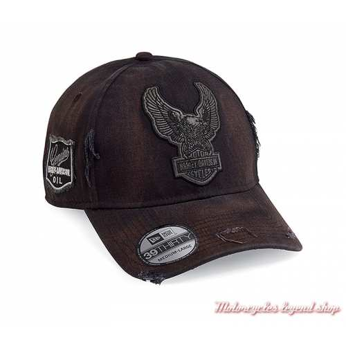 Casquette Upright Eagle Patch Harley-Davidson homme