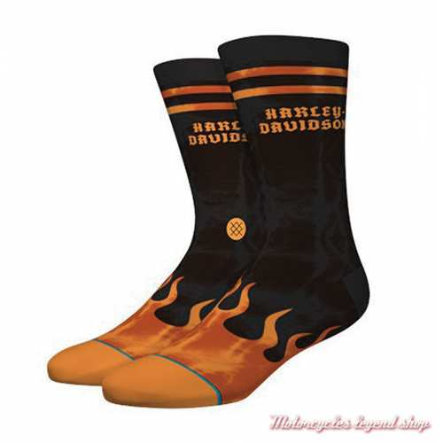 Chaussettes Flames Harley-Davidson homme