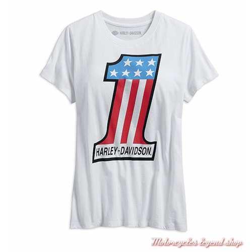 Tee-shirt One Retro Harley-Davidson femme