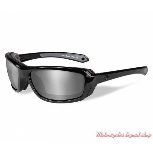 Lunettes solaires Rage-X Harley-Davidson, fumé gris, cavité intérieur amovible, HDRGE02