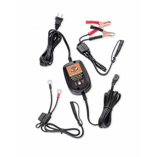 Chargeur automatique Harley-Davidson étanche, pour batteries Lithium LiFe ou AGM plomb-acide, 66000182