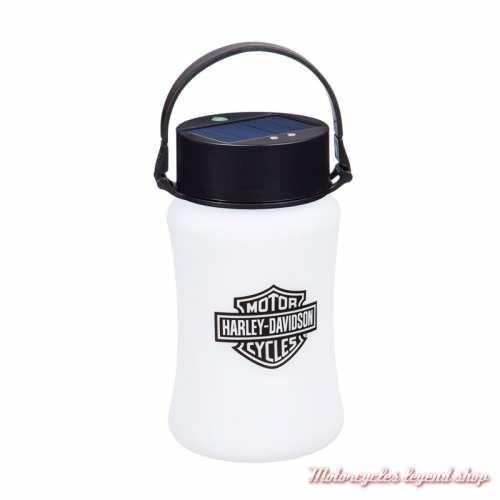 Lanterne silicone solaire Harley-Davidson, 4 éclairages, 17 cm, 2SP4900SL