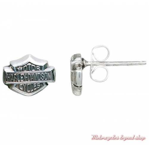 Boucles d'oreilles Bar & Shield Harley-Davidson