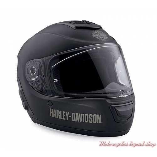 Casque intégral Boom Audio Harley-Davidson mixte, Bluetooth, noir mat, 98365-19EX