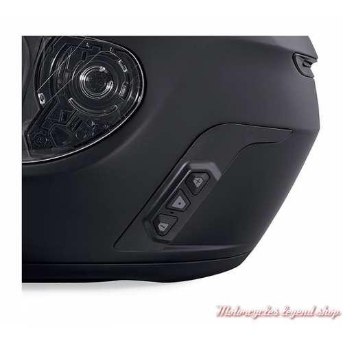 Casque intégral Boom Audio Harley-Davidson mixte, système Bluetooth, noir mat, 98365-19EX