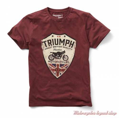 Tee-shirt Munt Triumph homme