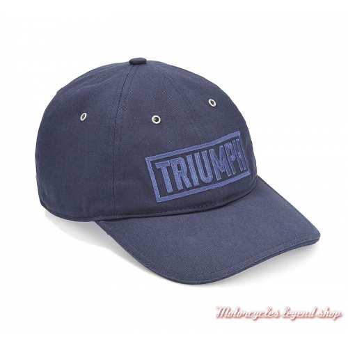 Casquette Pye Triumph homme, Bonneville, Bleu, coton, MCAS19317