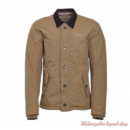 Blouson T1 Deck Gore-Tex Triumph homme, Adventure, marron, MTHS19502