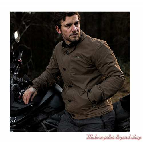 Blouson T1 Deck Gore-Tex Triumph homme, Adventure, marron, visuel, MTHS19502