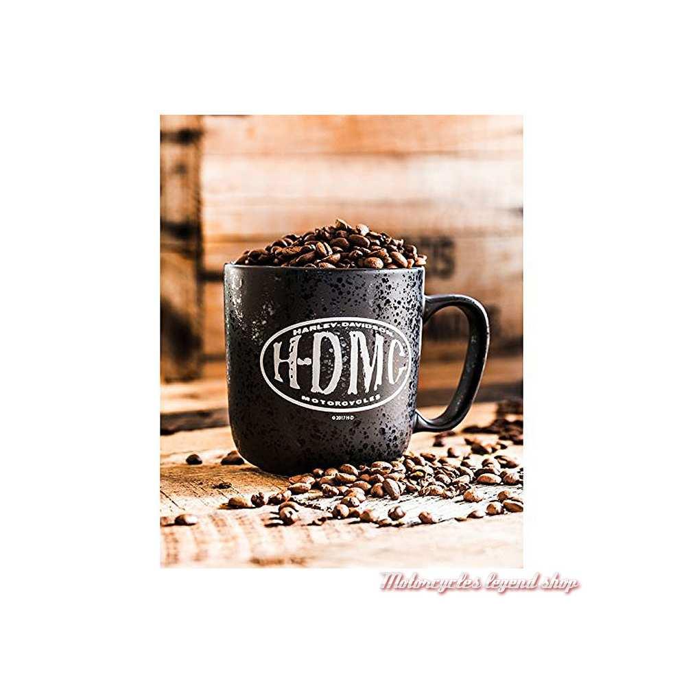 Mug Myst H-DMC Harley-Davidson, noir, 45 cl, visuel, 3MLM4925