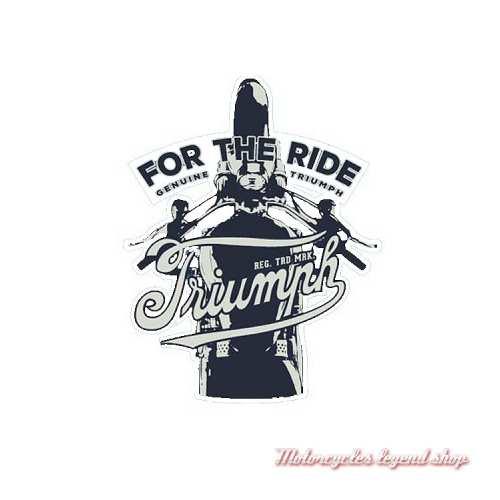 Patch For the Ride Triumph, brodé, à coudre, MPAS19319