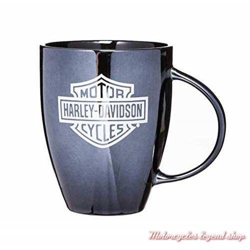 Mug Lustre Shiny Harley-Davidson, noir brillant, 54 cl, 3BLM4900