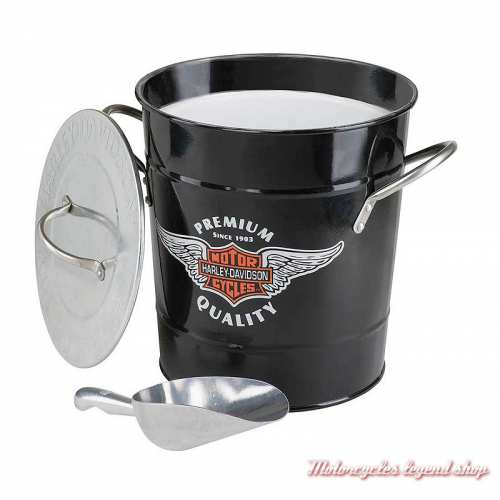 Seau à glace Harley-Davidson, métal, HDL-18582