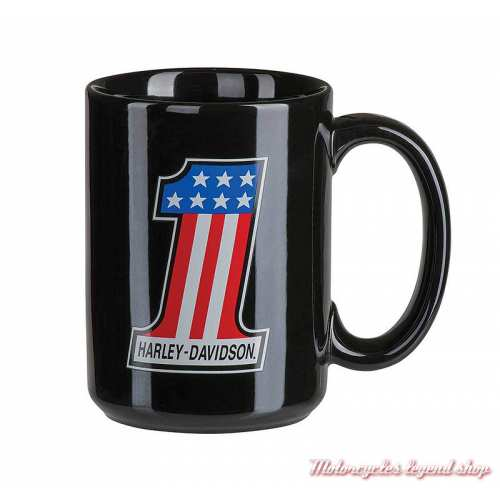 Mug Number One Racing Harley-Davidson