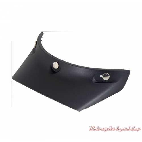 Visière Casquette EX-ZERO Shoei, noir, plastique