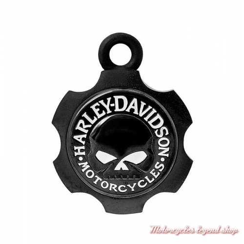 Clochette Axel Skull noir mat Harley-Davidson
