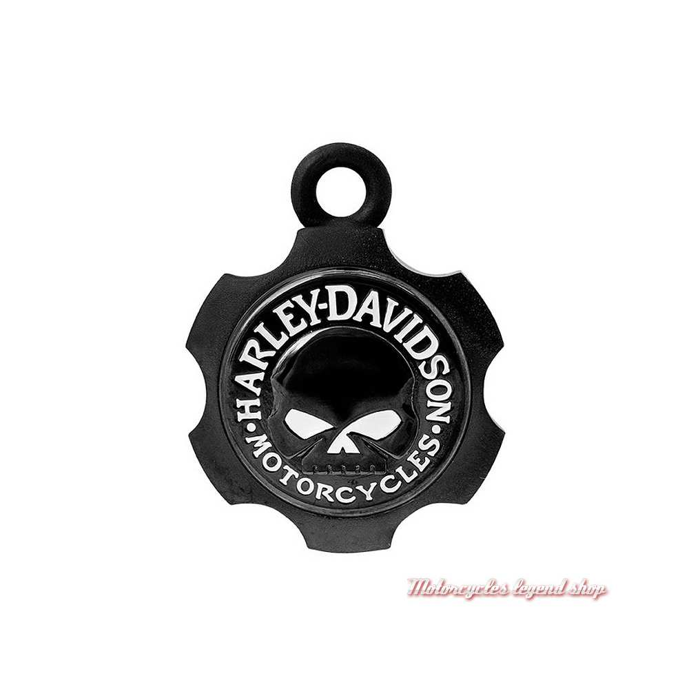 Clochette Axel Skull noir mat Harley-Davidson HRB099