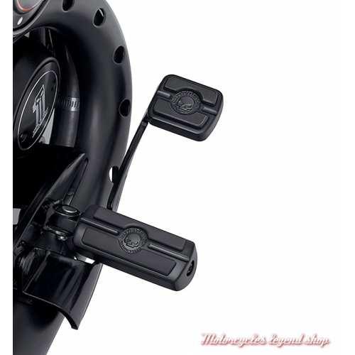 Repose-pieds Skull Pilote Harley-Davidson, noir, visuel, 50501288