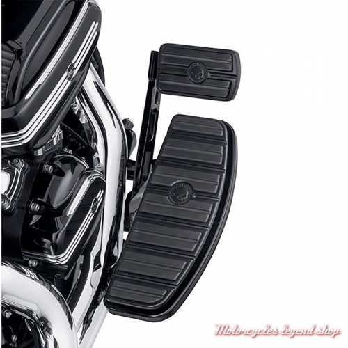 Garniture de pédale de frein Skull Harley-Davidson noir, large, visuel, 50600343