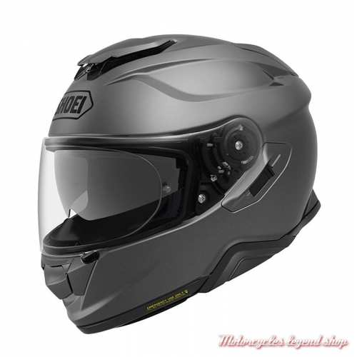 Casque intégral GT-Air 2 Deep Grey Shoei, gris mat