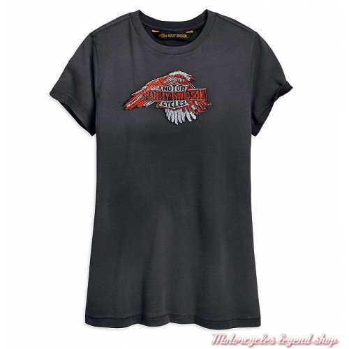 Tee-shirt Sublimed Eagle Harley-Davidson femme
