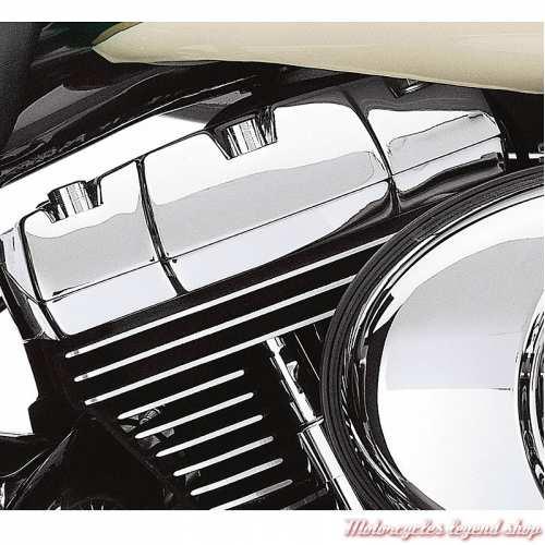 cache-boulons de cache-culbuteurs Harley-Davidson, chromé, visuel, 43868-99
