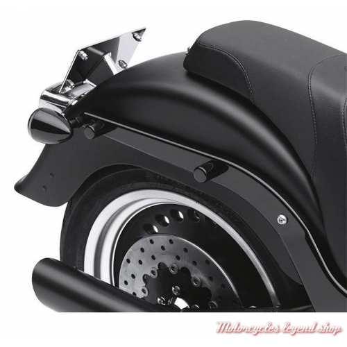 Cache de fixation arrière Harley-Davidson, noir, grand modèle, visuel, 48223-10