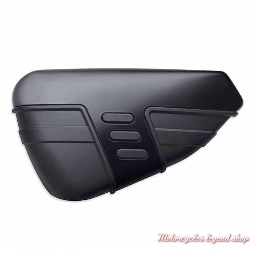 Cache batterie Harley-Davidson, noir, 57200140