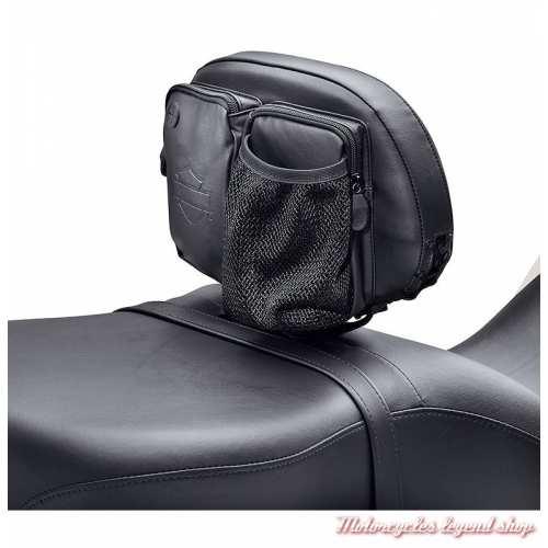 Organisateur pour dosseret pilote, espace de rangement pour passager, Harley-Davidson, visuel 1, 93300098