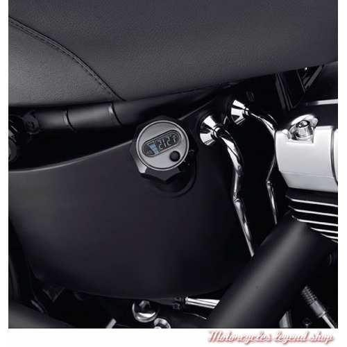 Jauge à huile Harley-Davidson, écran LCD, noir, visuel, 63055-09