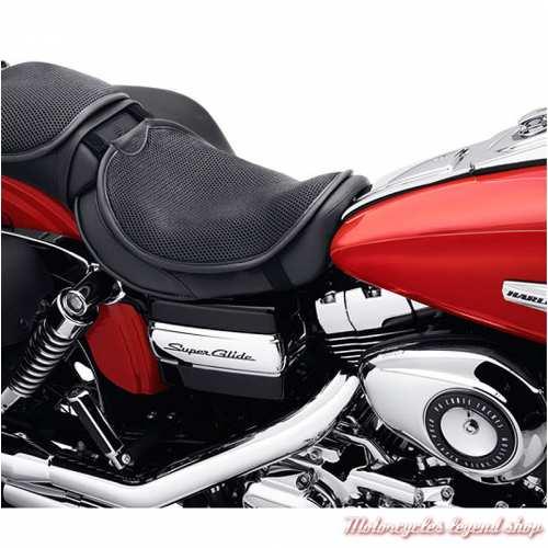 Coussin de selle Circulator Harley-Davidson, taille medium, respirant, noir, Harley-Davidson, visuel, 51074-10